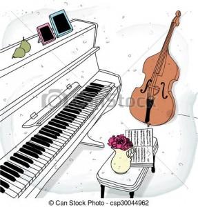 Violon Piano www.creadire.com